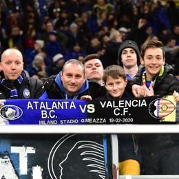 Gli spettatori col Valencia, quelli con l'Inter e il Malines. Uno su 3 a San Siro? Che storiella