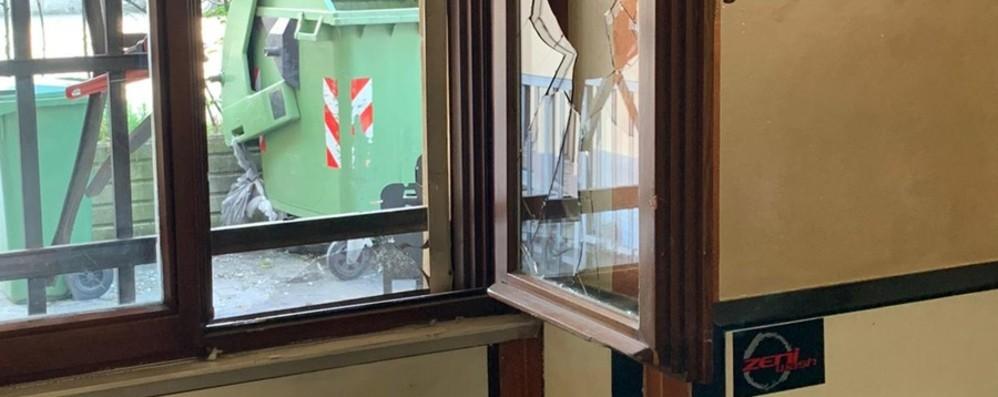 Spaccata in un bar a Dalmine  20 mila euro tra bottino e danni