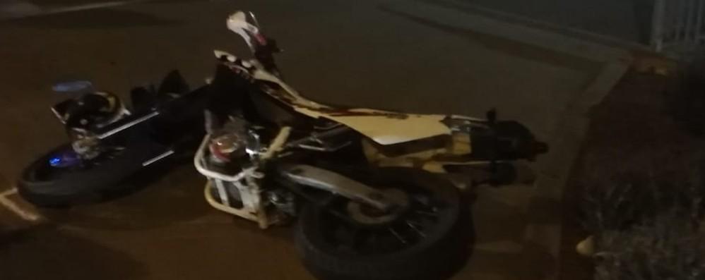 Albano, scontro tra una moto e un furgone Muore 17enne di San Paolo d'Argon