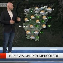 Meteo, le previsioni per mercoledì 26 febbraio