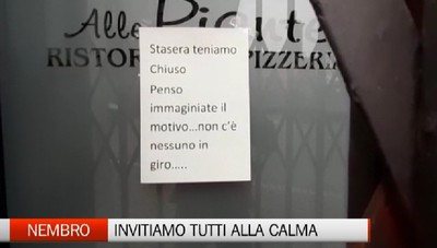 Nembro, il sindaco Cancelli invita alla calma