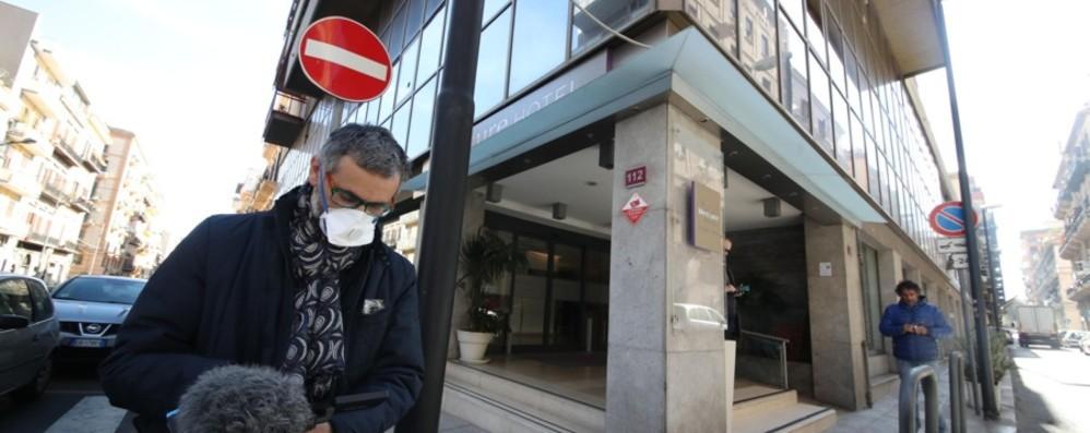 Palermo, dopo i 3 casi di coronavirus  Negativi  gli altri turisti bergamaschi