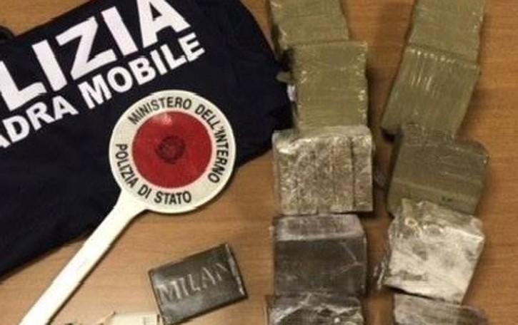 Ultras Inter preso con 47 kg di hashish Droga anche in una casa a Bonate Sopra