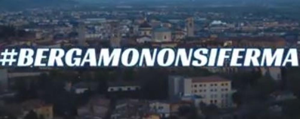 #bergamononsiferma Un video per la città che non molla
