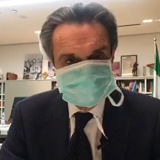 «Mia stretta collaboratrice positiva» Il presidente Fontana  in auto isolamento