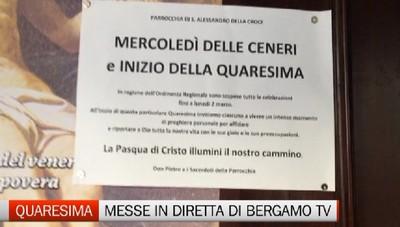 Bergamo Tv trasmetterà in diretta domani la messa da Treviglio e domenica dal Duomo di Bergamo