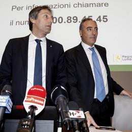 In Lombardia 984 positivi, 209 a Bergamo «Gli over 65 stiano il più possibile a casa»