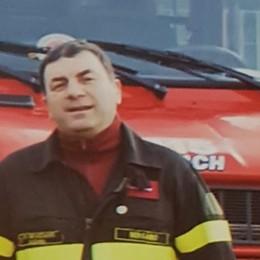 Vigili del fuoco bergamaschi in lutto Colzate, è morto Piero Camozzi