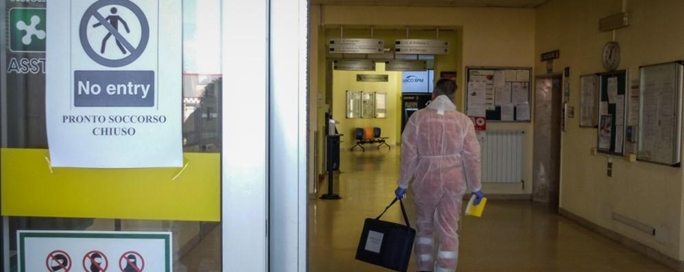 Coronavirus, le vittime salgono a sette I contagi in Bergamasca sono 103