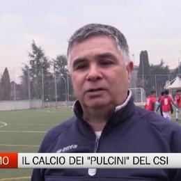 Csi, Calcio a sette: il campionato dei «pulcini»