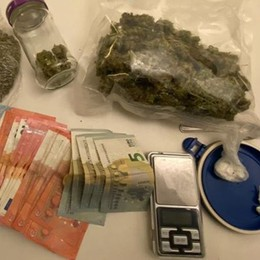 Endine, in casa cocaina e marijuana Operaio finisce agli arresti domiciliari