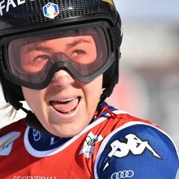 Goggia sfiora il podio a Garmisch È quarta: Brignone al secondo posto