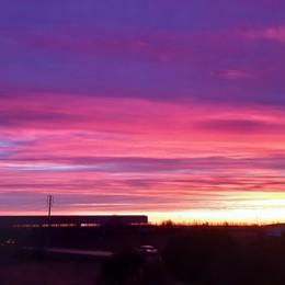 I colori dell'alba in Bergamasca Le foto più belle dei nostri lettori