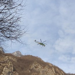 Rogo in Val Taleggio, bruciati 5 ettari «Probabilmente un atto doloso»