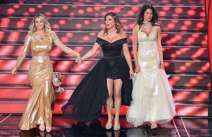 Un trio di bellezze: Diletta Leotta, Sabrina Salerno e Francesca Sofia Novello