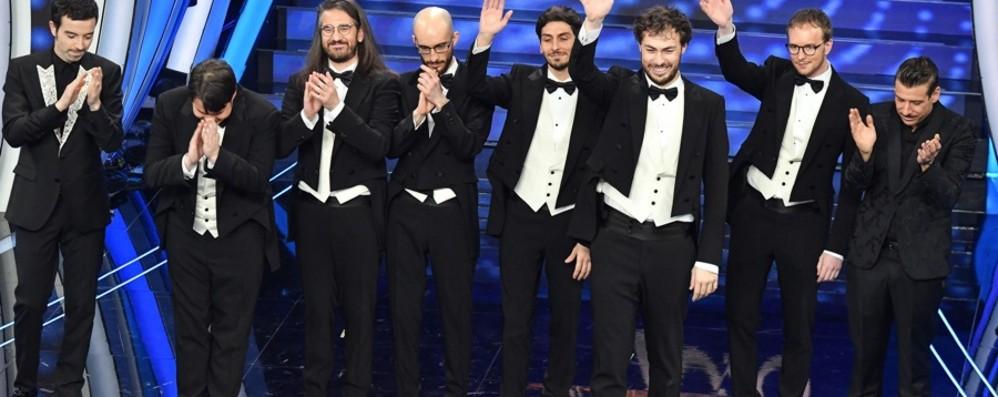 Sanremo, Pinguini Tattici al terzo posto Vince Diodato, secondo Gabbani - Foto