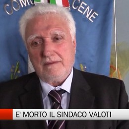 Cene, è morto il sindaco Giorgio Valoti