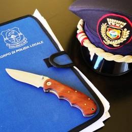 Fermati tre giovani a Gazzaniga Una denuncia per porto abusivo d'armi