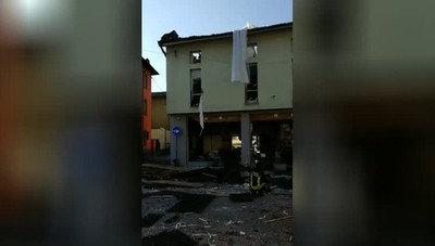 Esplosione  a Seriate