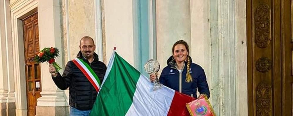 Michela, per la terza Coppa festa surreale nella piazza vuota