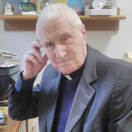 Addio a don Cirillo Longo Fondò il centro «Don Orione»
