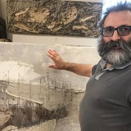 Addio a Mario Giudici, dipingeva l'anima «Senza materia non riuscirei a vivere»