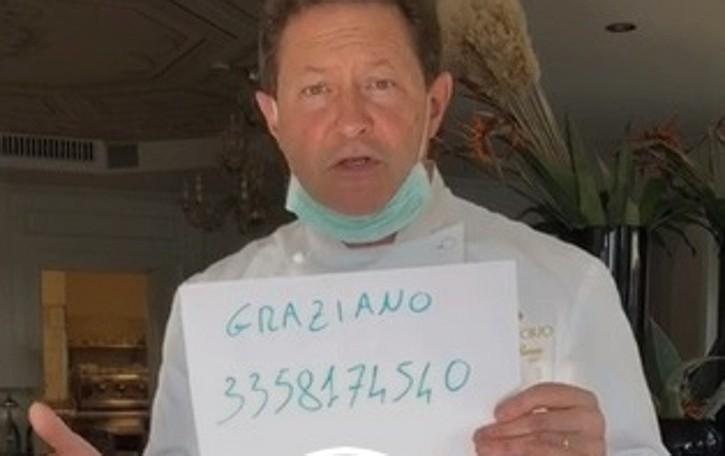 Da Vittorio cucinerà per l'ospedale in Fiera L'appello: aiutateci e donate alimenti