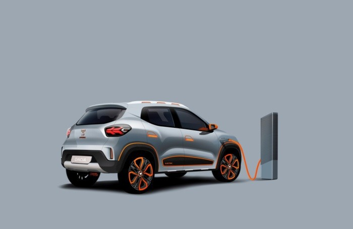 Dacia Spring elettrica