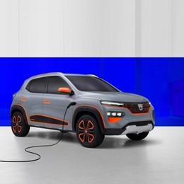 Dacia Spring elettrica Ecco le anticipazioni