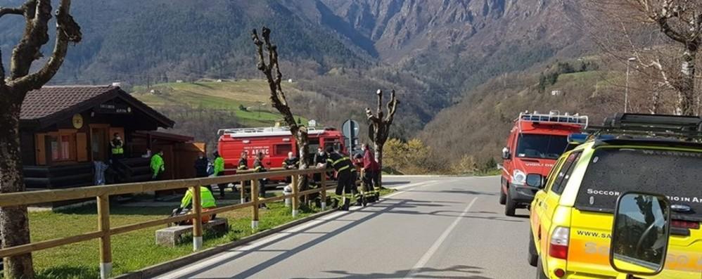 Scappato dall'ospedale e positivo al Covid Ritrovato vivo in Val Parina