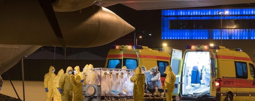 In Germania i primi 2 pazienti da Bergamo E nella nostra città in arrivo virologi russi