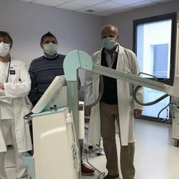 «Noi, uniti a doppio filo ai bergamaschi» Radiografo e due infettivologhe in dono
