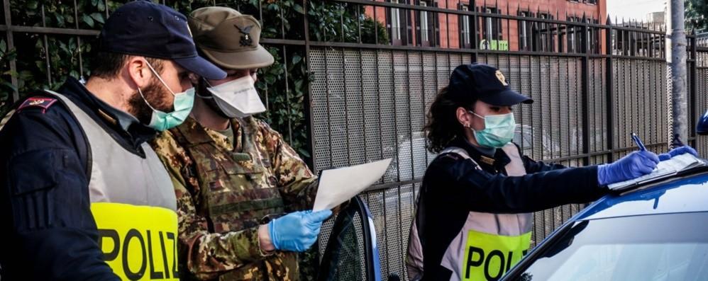 Stretta sui controlli a Bergamo Polizia ed Esercito sulle strade