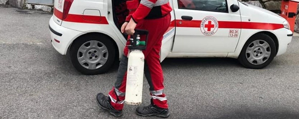 A casa con bombola di ossigeno A Bergamo ci sono 1234 pazienti