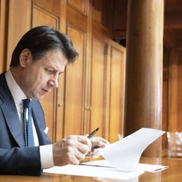 Il premier Conte scrive a «L'Eco» «Bergamo ferita ma ha saputo reagire»