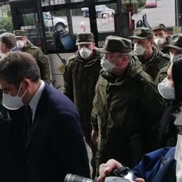 Medici russi, 32 nell'ospedale da campo Ora faranno training al Papa Giovanni
