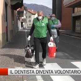 Cene, anche il dentista diventa volontario