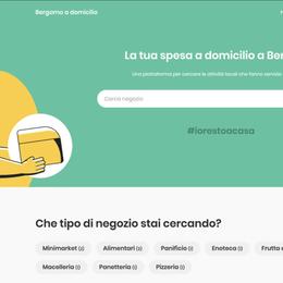 Consegne a casa in Bergamasca Una mappa dei negozi diventa una app