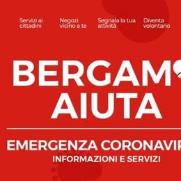 Dai negozi aperti ai servizi per anziani Nasce il sito «Bergamo Aiuta»