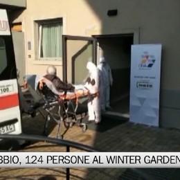 Grassobbio, saliranno a 124 i pazienti al Winter Garden