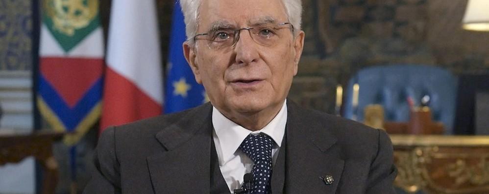 Il monito di Mattarella all'Unione europea «Intervenga prima che sia troppo tardi»