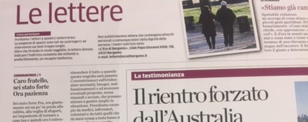Le lettere al giornale Un mondo migliore