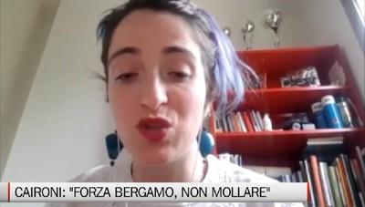 Martina Caironi: Forza Bergamo, ne usciremo più forti