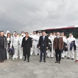 Medici dall'Albania in aiuto di Bergamo Fontana: la Lombardia vi dice grazie