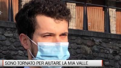 Ponte Nossa, la storia del giovane medico Andrea Palamini