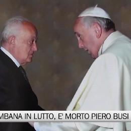 Val Brembana in lutto, è morto Piero Busi