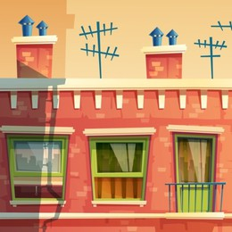 """""""Vicinologia"""", cioè fenomenologia (alla finestra o sul pianerottolo) dei vicini di condominio"""