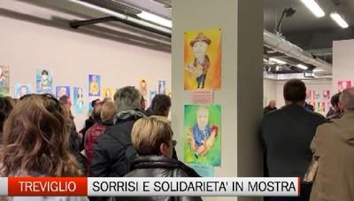 treviglio - In mostra caricature e solidarietà