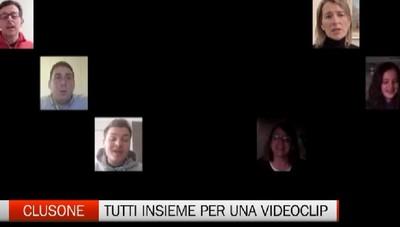 Un video di speranza riunisce la comunità di Clusone e impazza sui social