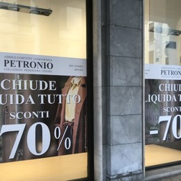 Una storia di moda ed eleganza Dopo 66 anni in città chiude Petronio